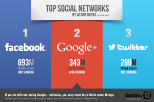 Top social networks