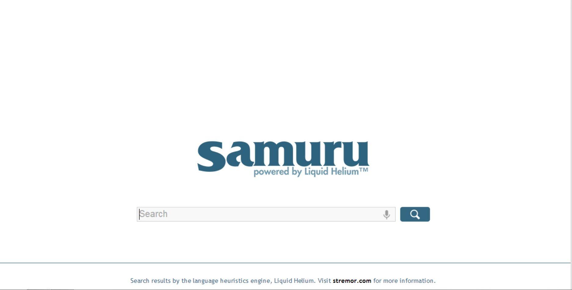 Samuru le nouveau moteur de recherche web