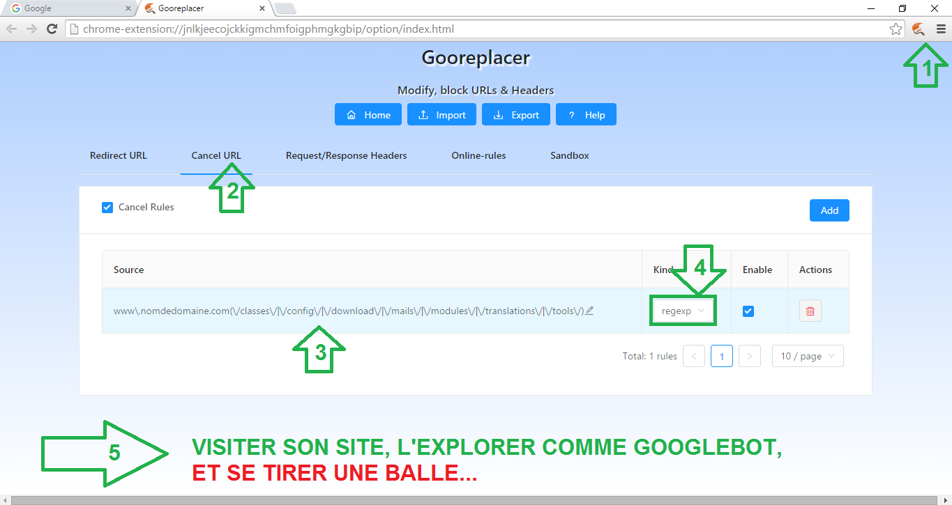 gooreplacer